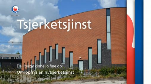 Kerkdienst bij Omrop Fryslân